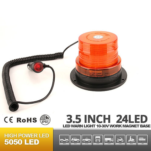 "3.5"" Low Dome LED Emergency/Strobe light For forklife N214A"