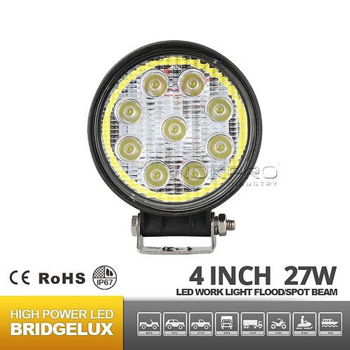 27W hola rings 4inch LED work Lights N342F-27R