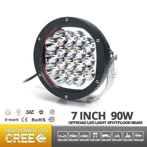 7inch Offroad LED headllight JEEP SUV N353B-90 ECE R112
