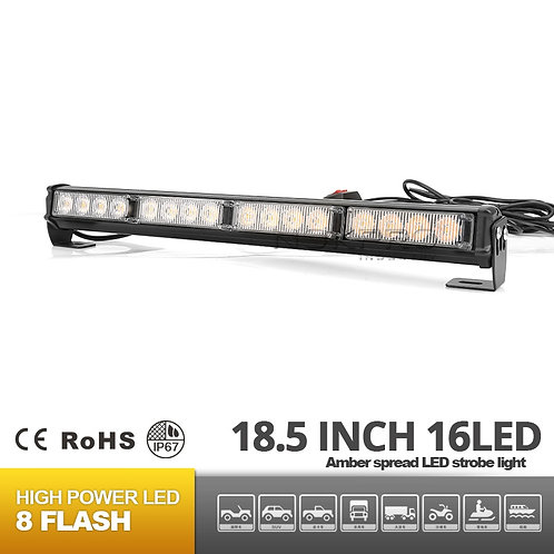 Chameleon TIR Dual Color LED Traffic Advisor Light Bar N182