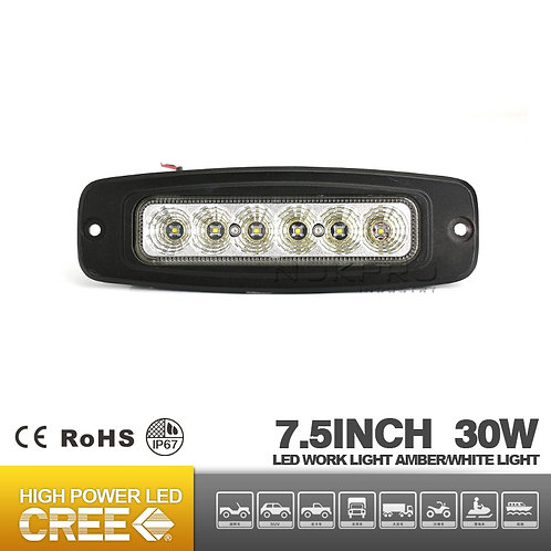 30W LED Flush Light Mini LED Light Bar for ATV UTV Motor Offroad N361C-30