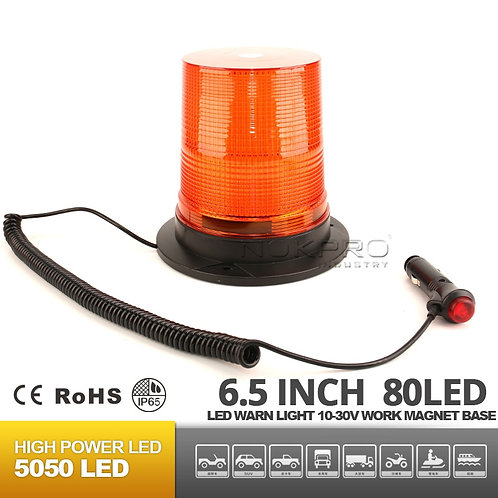 "6.5"" LED Emergency/Strobe light with magnet base N217B"