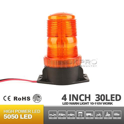 Forklift 10-110V LED Emergency/Strobe light with magnet base N212A