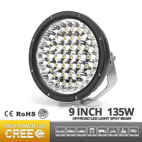 9inch 135Watt LED Driving light for 4X4 offroad jeep N353-135