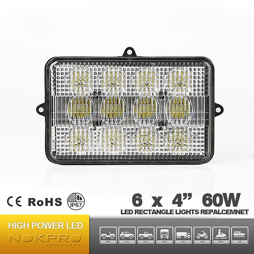 LED 6-Light Flood/Spot Combine Light N461S-60-3