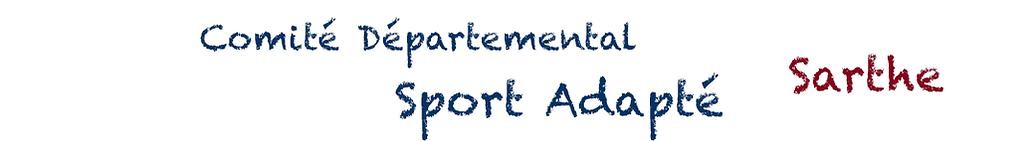 comité départemental sport adapté sarthe 72