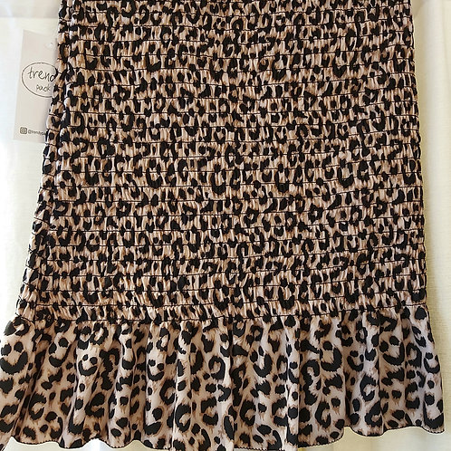 Falda ABEJA animal print