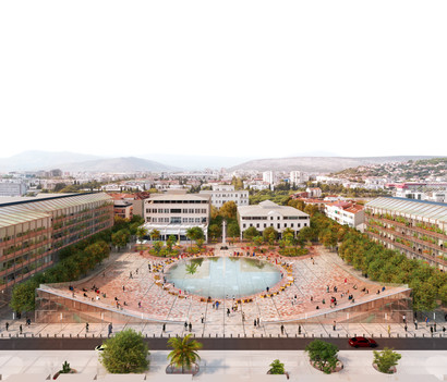 Independence Square Podgorica