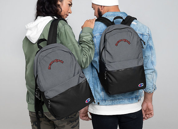 SaddleBags Embroidered Champion Backpack