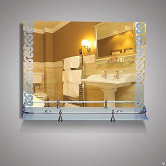 Зеркало 46521в silver