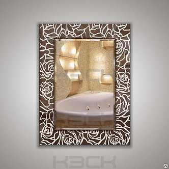 Зеркало 45415бронза /серебро/графит/