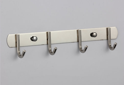 Планка с крючками (4 крючка) Savol S-00404D