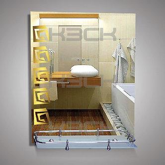Зеркало 46523в gold