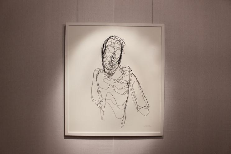 Ausstellungsansicht. Ohne Titel, Daniel Leiter, Foto: Bettina Siegele