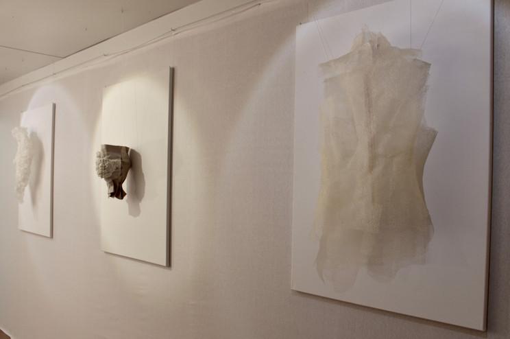 Ausstellungsansicht. Lisa Saurer, Foto: Bettina Siegele