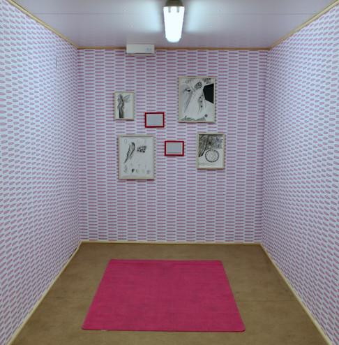 Ausstellungsansicht. Antigone, Heidi Holleis, Foto: Bettina Siegele