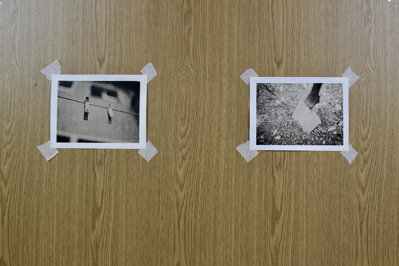 Ausstellungsansicht. No matter how much you like it, it´s work!, Michael Haupt, Foto: Bettina Siegele
