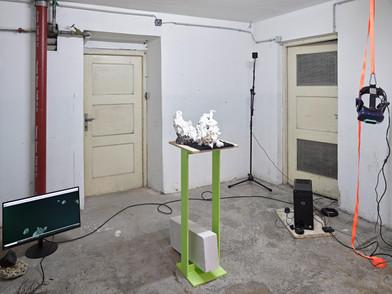 Uwe Brunner, Spectral Sediments, Foto: West.Fotostudio