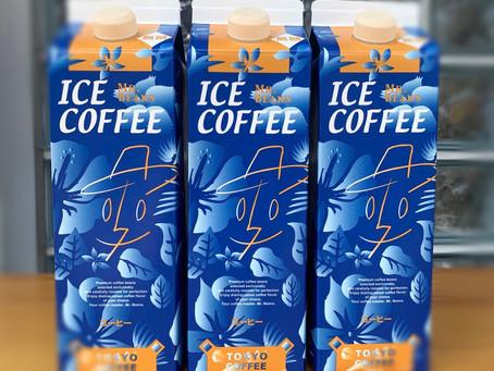 当店の自家焙煎アイスコーヒーリキッド1L