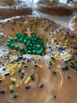 Keller's Bakery Downtown King Cake