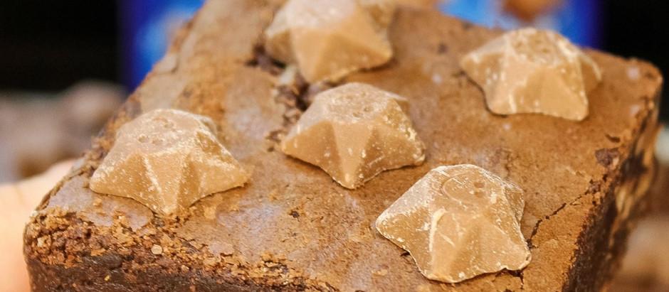 Magic star brownies!