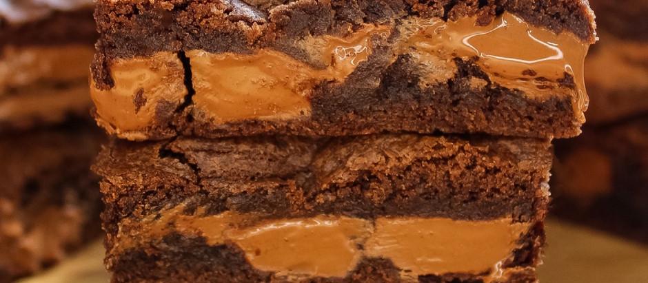 Cadbury orange cookie bars!