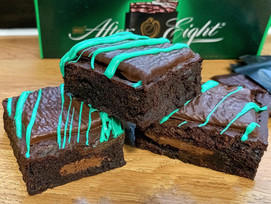 After Eight brownies!