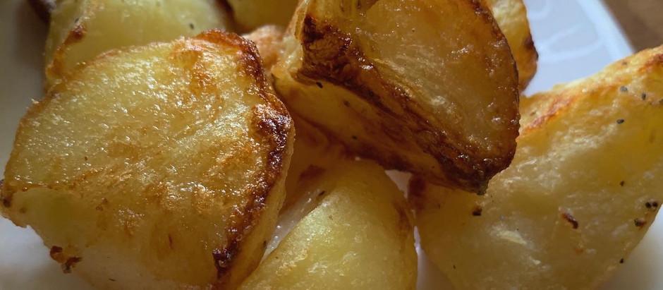 The BEST roast potatoes!
