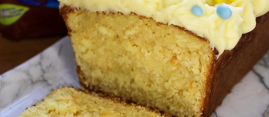 Smarties loaf cake!