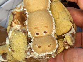 Kinder Happy Hippo cookies!