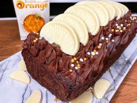 Terry's chocolate orange loaf cake!