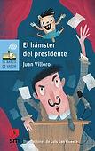 portada el hamster del presidente juan villoro