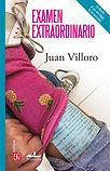 portada examen extraordianario juan villoro