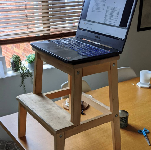 My Top 4 Tips to eliminate pain when working from home!