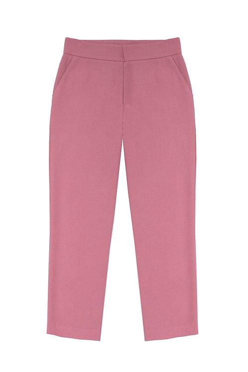 Suit Pants -Rose