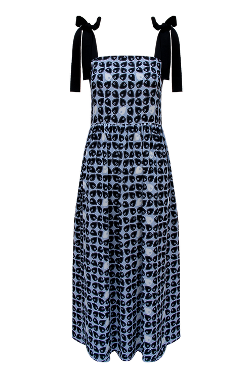 Sofia Dress_light blue print