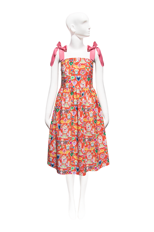 NEW Sofia Dress_mexican print