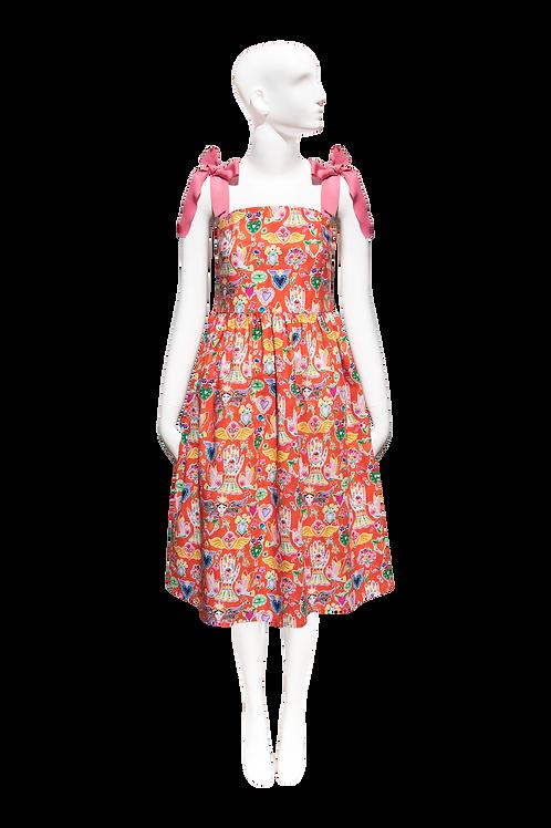 NEW Sofia Dress_mexican print
