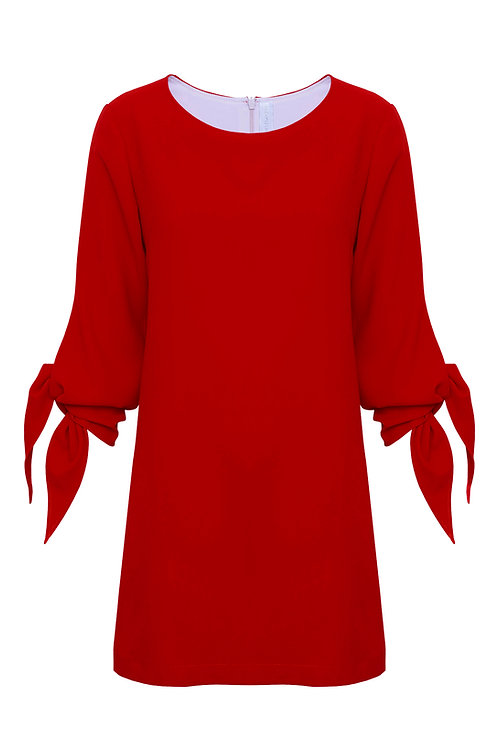 Alexandra Dress - Red