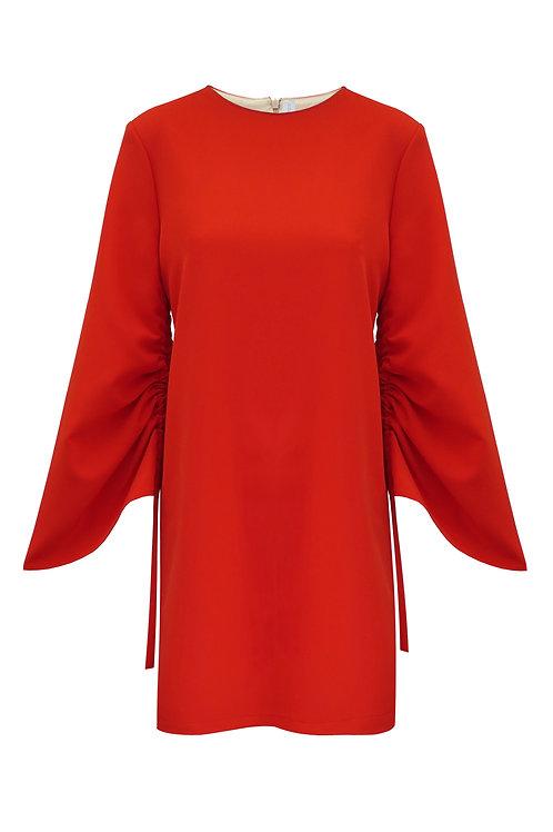 CrepeTrapeze Dress