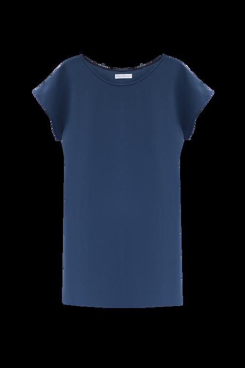 Maria Dress - Prussian Blue