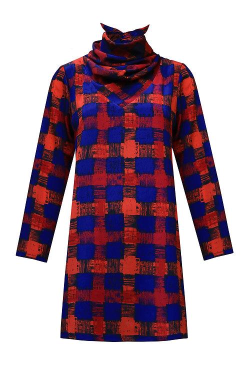 Scarf Dress - Gingham