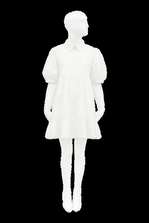 Francisca Dress_White