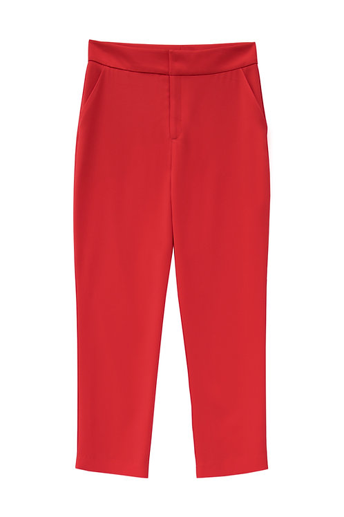 Tailored Pant_ Red