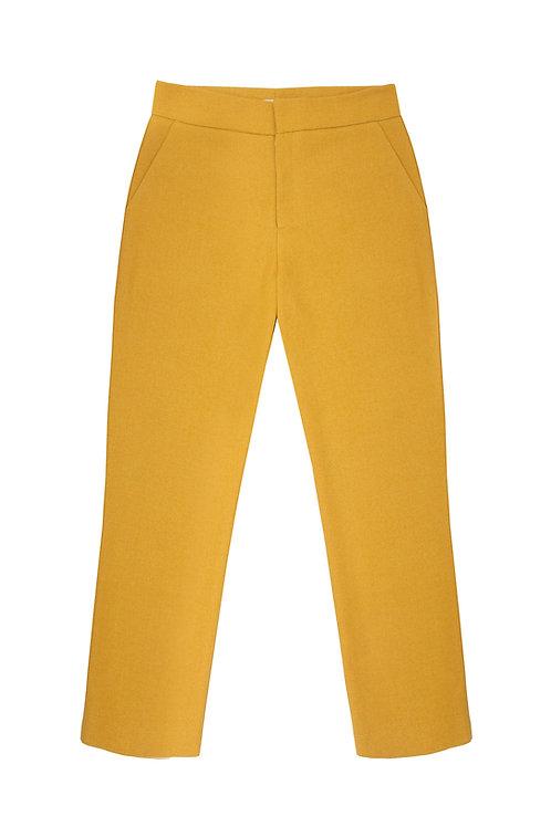 Tailored Pants - Mustard