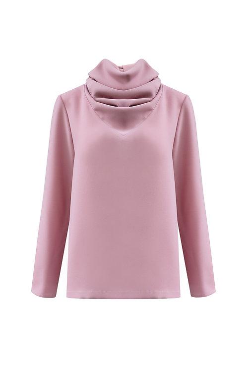 Scarf Top - Pink