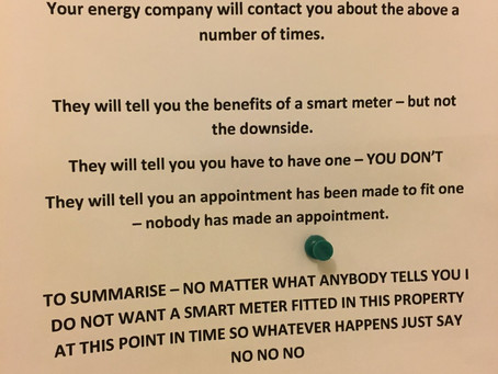 The sad reality of the Smart meter roll out programme