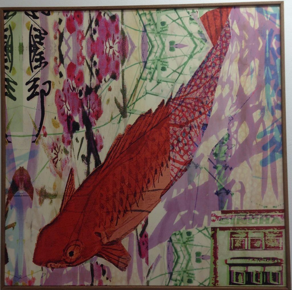 Red koi fish dream