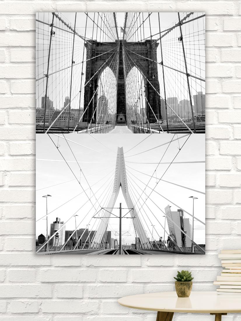 Brooklyn Bridge & Erasmusbrug