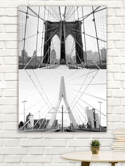 Brooklyn Bridge & Erasmusbrug